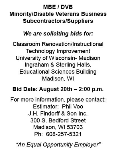 j-h-findorff-son-requesting-bids-classroom-renovation-uw-madison