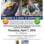 Madison College Construction Career Fair