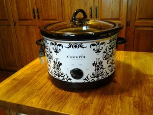 My new crock pot…
