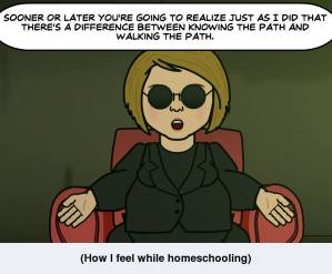 Homeschooling and the Matrix…