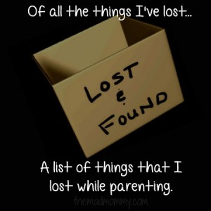 Of All The Things I've Lost…