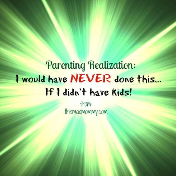 Parenting Realization…