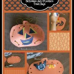Easy Preschool Craft: Halloween Jack O'Lantern Treat Bags