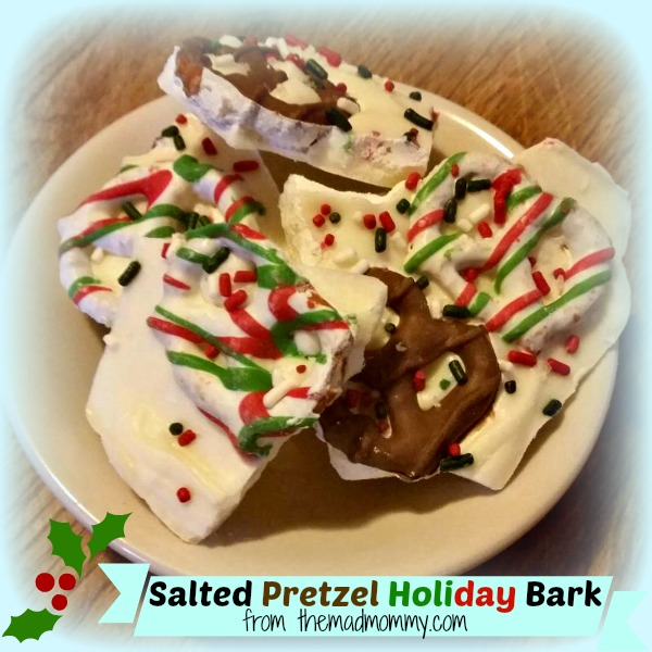 Salted Pretzel Holiday Bark