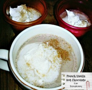 French Vanilla Hot Chocolate…