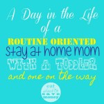 A Day In The Life of a Very Scheduled SAHM!