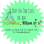 A Day In The Life of an Insomniac Mom of 4!