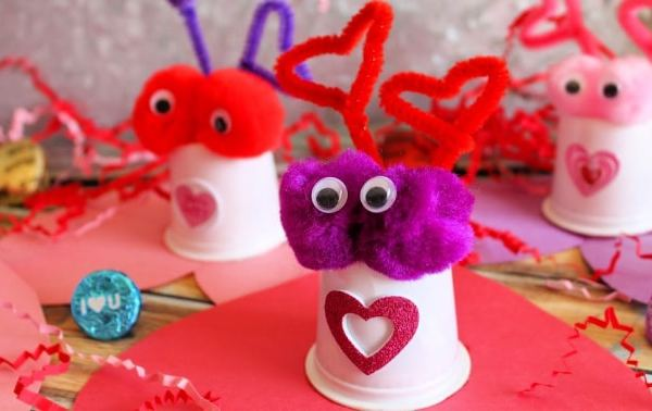 K-Cup Valentine Candy Critters!
