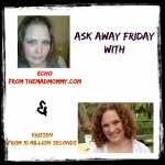 Ask Away Friday and 31 Million Seconds!