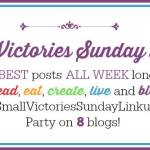 Small Victories Sunday!