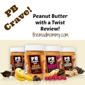Peanut Butter With A Twist From PB Crave!