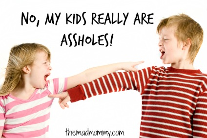 No, My Kids Really Are Assholes!