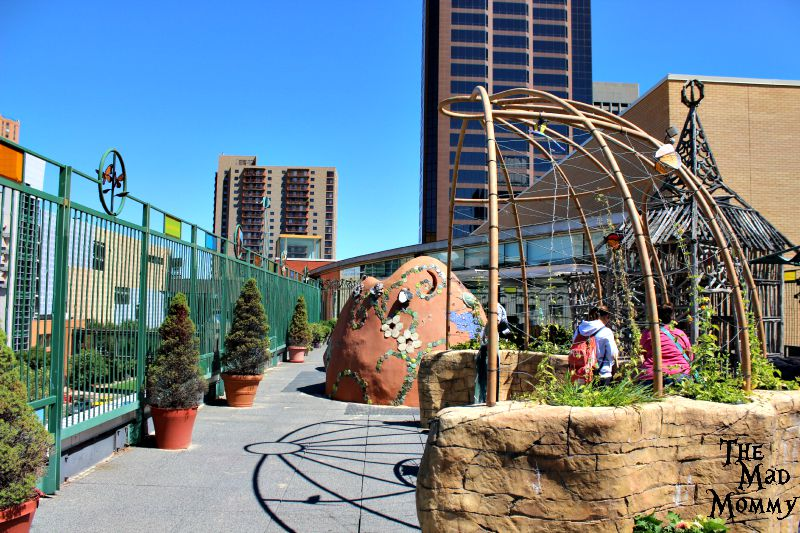 Rooftop Park at the Minnesota Children's Museum!