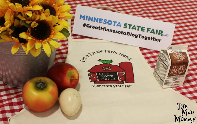 Eating and Learning at The Great Minnesota Get Together.