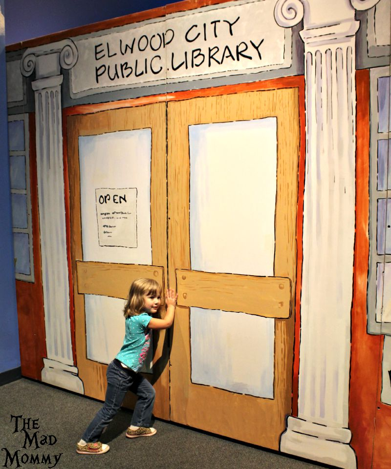 The Library is closed at Arthur's World in the Minnesota Children's Museum!