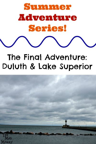 Local Adventure Series: Duluth and Lake Superior! Surprise trip to Lake Superior and a room at the Edgewater Hotel and Waterpark in Duluth!