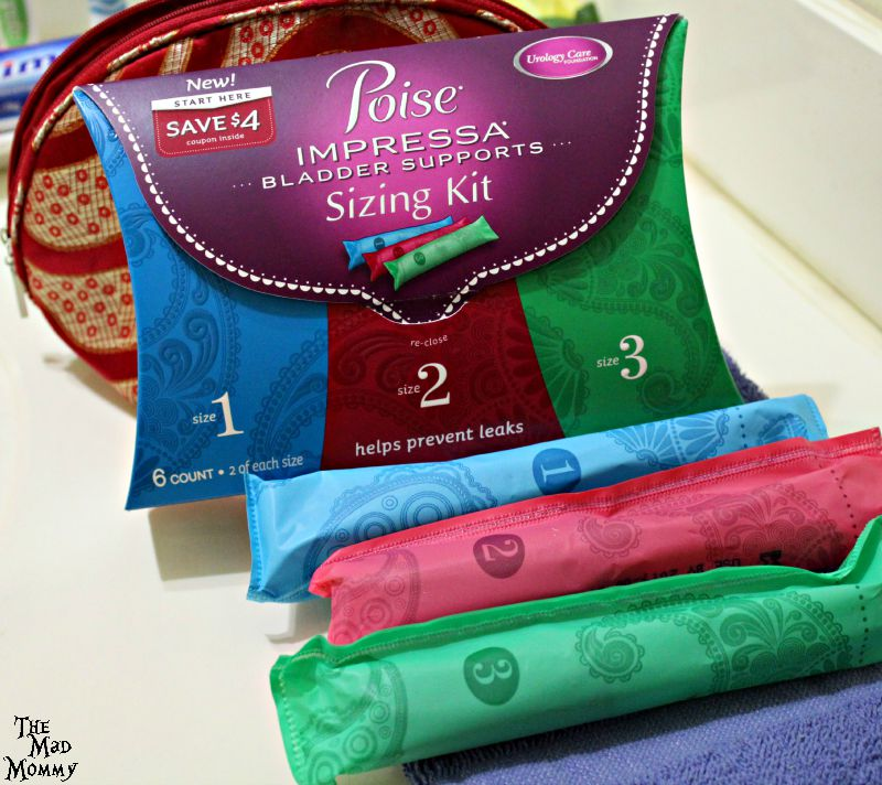 Gain confidence and prevent bladder leaks with Poise Impressa Bladder Supports. #ad #CollectiveBias #LifeAfterLeaks