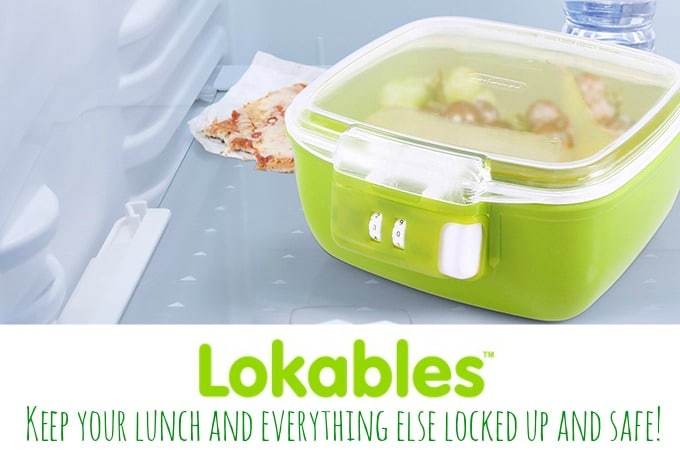 Lokables™ Are The First Customizable Combination Lock Storage Containers  That Are Microwave And Dishwasher Safe