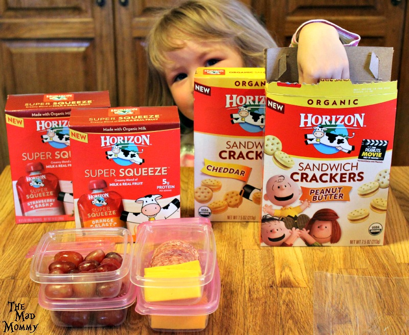 The new #HorizonLunch options are too delicious for kids to resist!