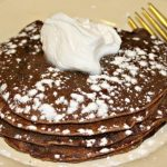Delicious and simple, 3 ingredient, flour free Chocolate Banana Pancakes will quickly become a favorite on your breakfast table! #CarnationSweepstakes #BetterBreakfast #CollectiveBias #AD