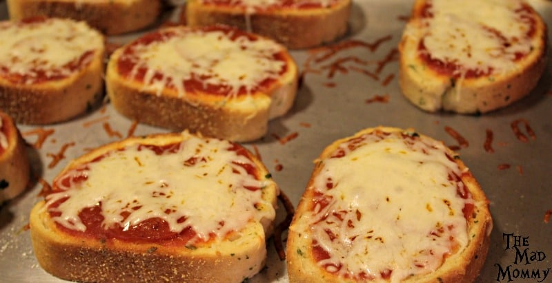 Step 5 of the Pepperoni Pizza Toast.