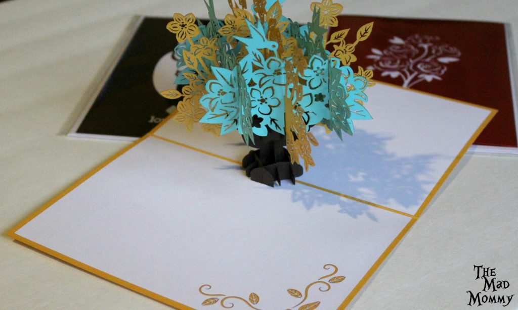 A Lovepop is more than a card. The intricate 3D paper sculptures are designed by naval engineers on cutting edge software and then hand-crafted in the Asian art form of sliceform kirigami.