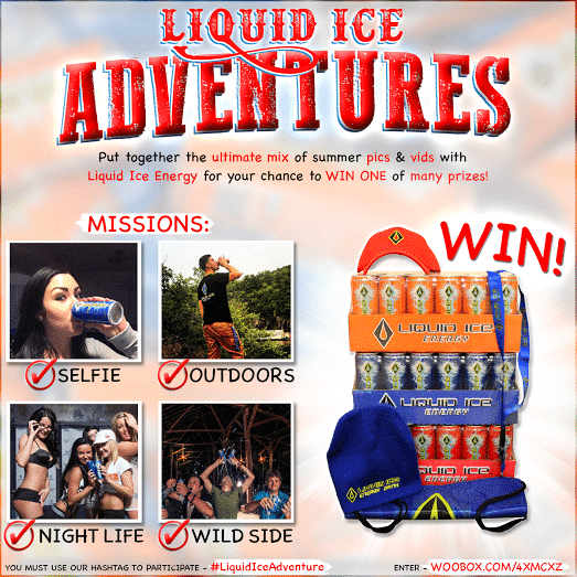 Liquid Ice Adventures Summer Contest! Put together your best summer pics and videos for a chance to win! #contest