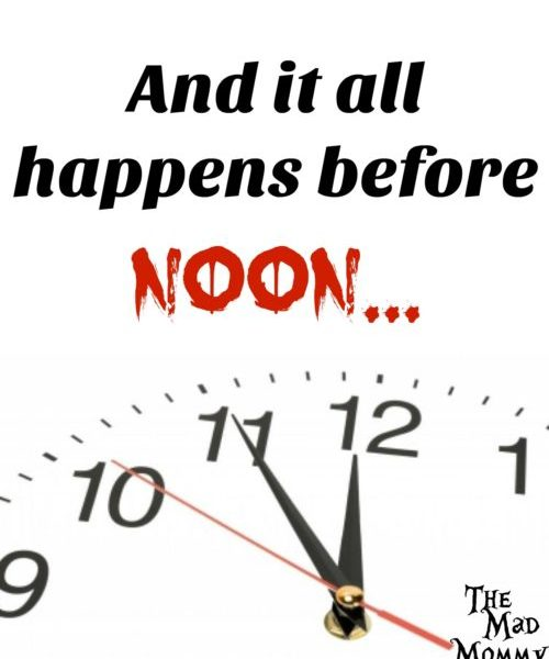 Before Noon…