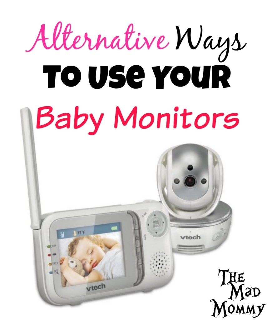 What do you do with expensive gadgets, like baby monitors, that are still in working order? You could give them to a friend, you could sell them to a consignment shop or, you could try some of these fun alternative ways to use your baby monitors!