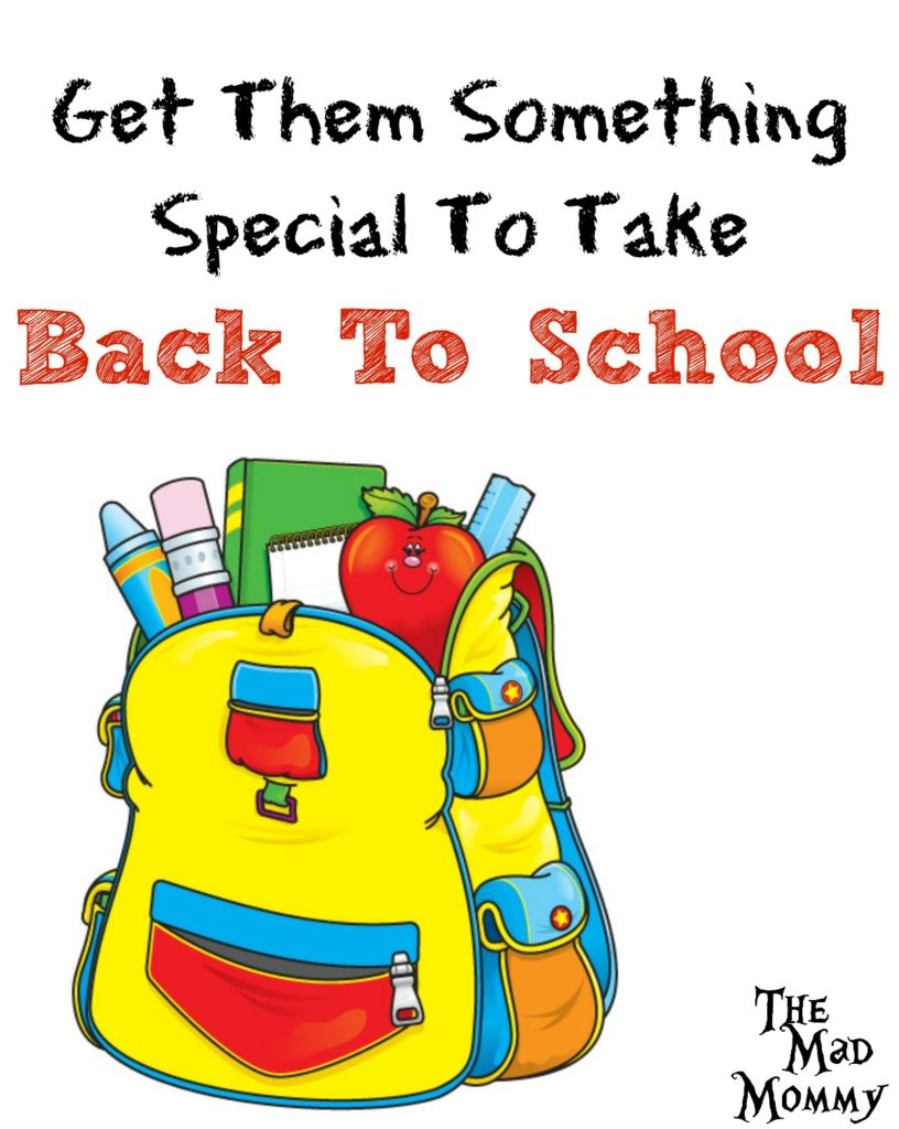 Give your kids something special and personalized to take back to school!