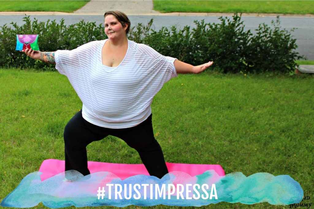 I am confidently living life with leaks and I am happy that I trust Impressa! #TrustImpressa #sponsored
