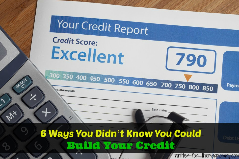 Buying a new home? Trying to get a loan? Want to improve your credit score? Here are six unexpected ways that you can build your credit.