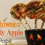 Fun and Healthy Halloween Candy Apple Pops!