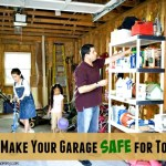 How to Make Your Garage Safe for Toddlers