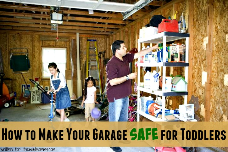 Making sure that your garage is safe for your little ones is extremely important. Sears Garage Doors has a few tips for how you can make sure that your garage is a safe place for your entire family.