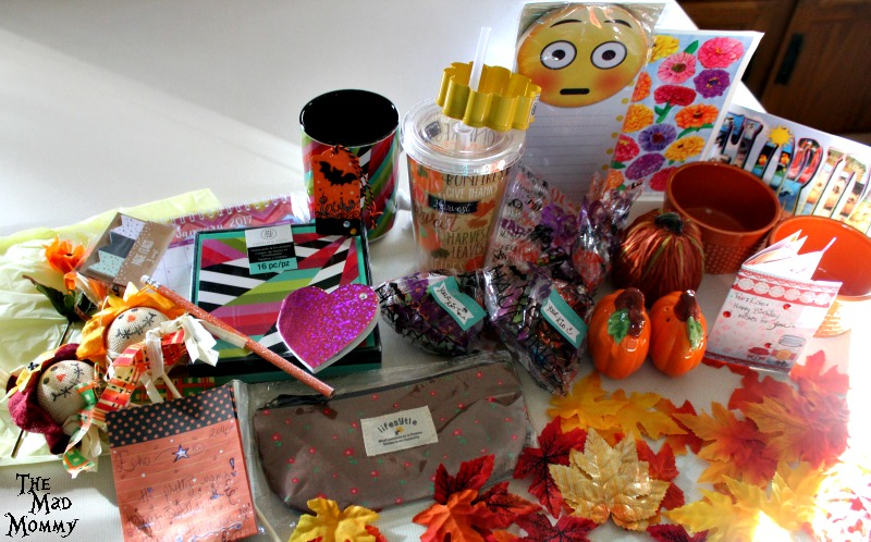 All of the fall goodness in my Sweet Progress Box Swap from Inspire Me Mama!