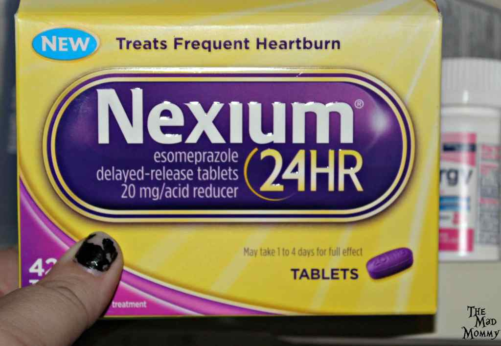 Be prepared this holiday season with Nexium® 24HR. I keep some Nexium® 24HR 42ct Tablets in my medicine cabinet. #MakeHeartburnHistory #CollectiveBias #Sponsored