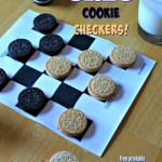 Dunk Your Opponent in Cookie Checkers!