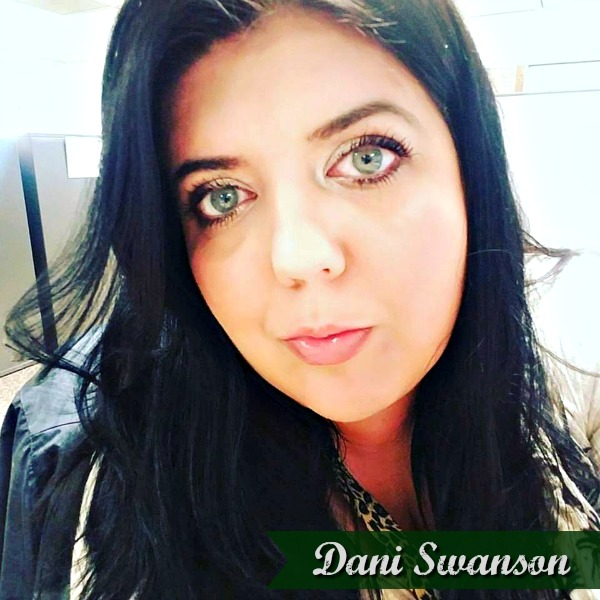 Dani was born and raised in Minneapolis, Minnesota, where she still resides. She majored in English Literature at the University of Minnesota, but enjoys art in all forms.