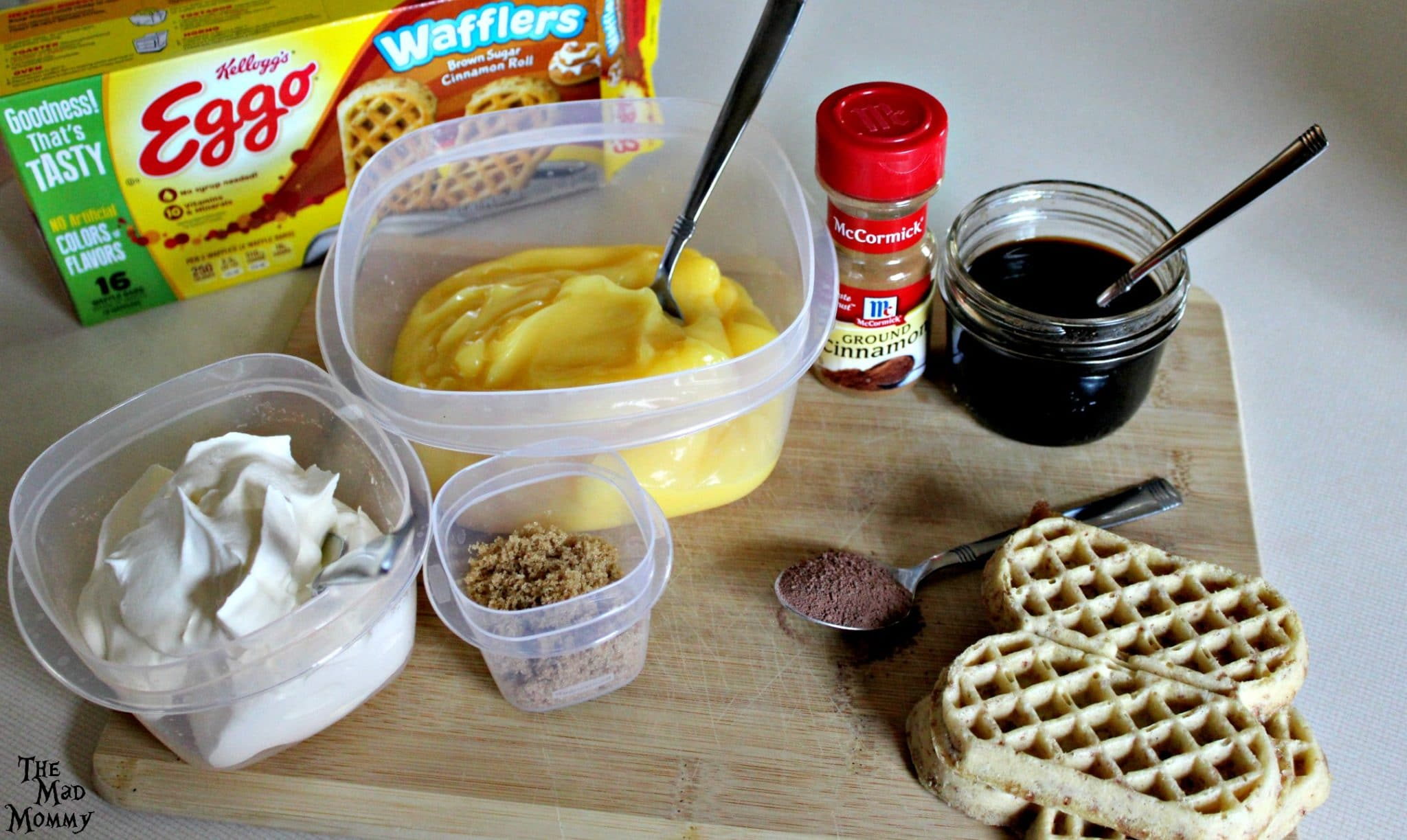 This waffle tiramisu recipe is so easy and delicious! You are sure to love it. Especially if you love Eggo Waffles and coffee, like me! Here is what I used to make it. #LeggoMyEggo #HearTheNews #ad