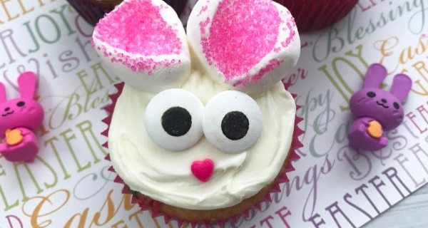 Quick and Easy Easter Bunny Cupcakes