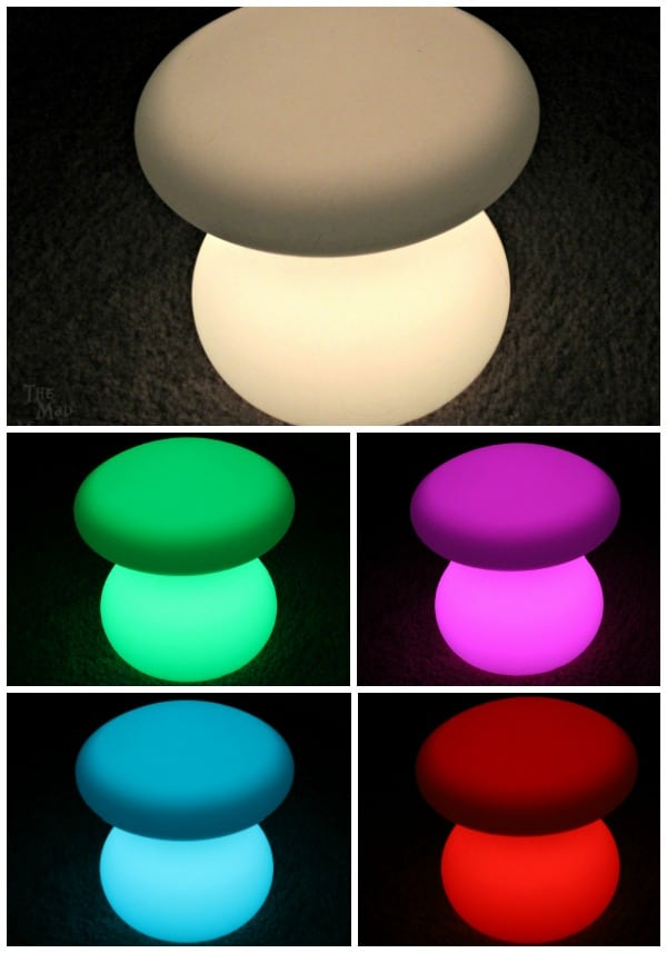 LOFTEK LED Lights light up in 16 different color variations!