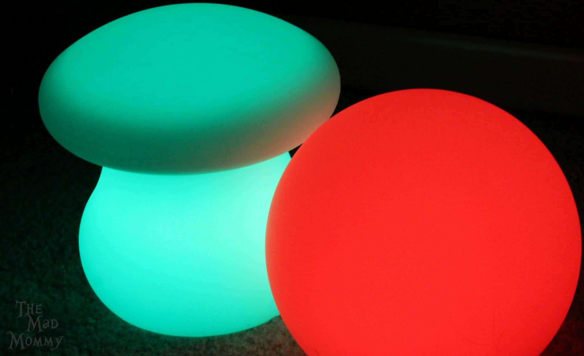 LOFTEK LED Lights (Sphere and Mushroom style)