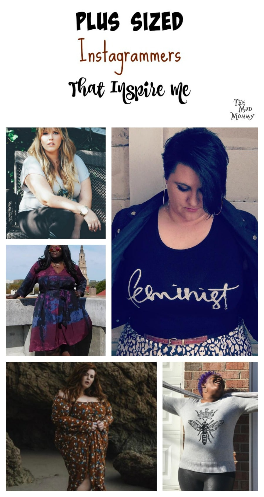 These are some of the plus sized Instagrammers that inspire me to love myself more.