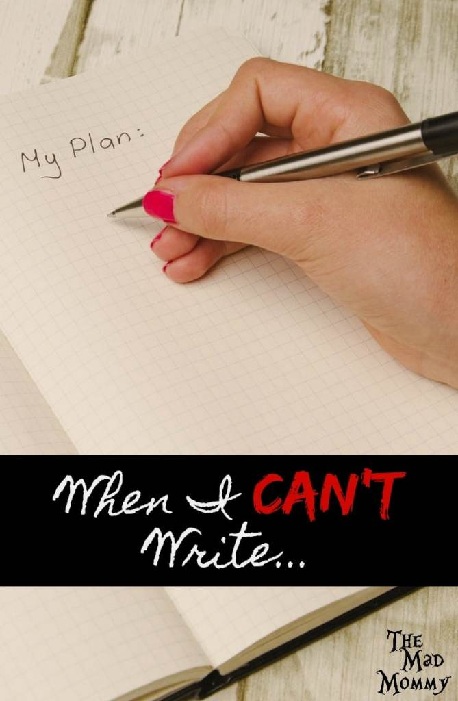 When I Can't Write…