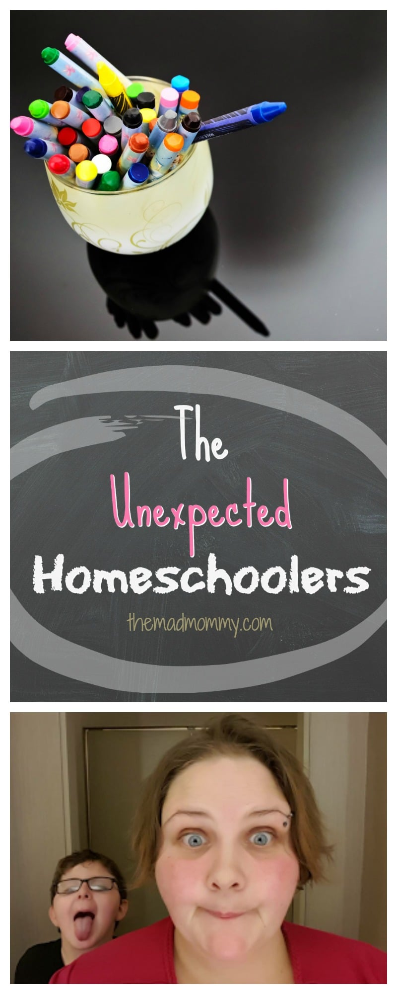 We may have become the unexpected homeschoolers, but it was the best decision we could've made for our son, at that time, to benefit his health and happiness.