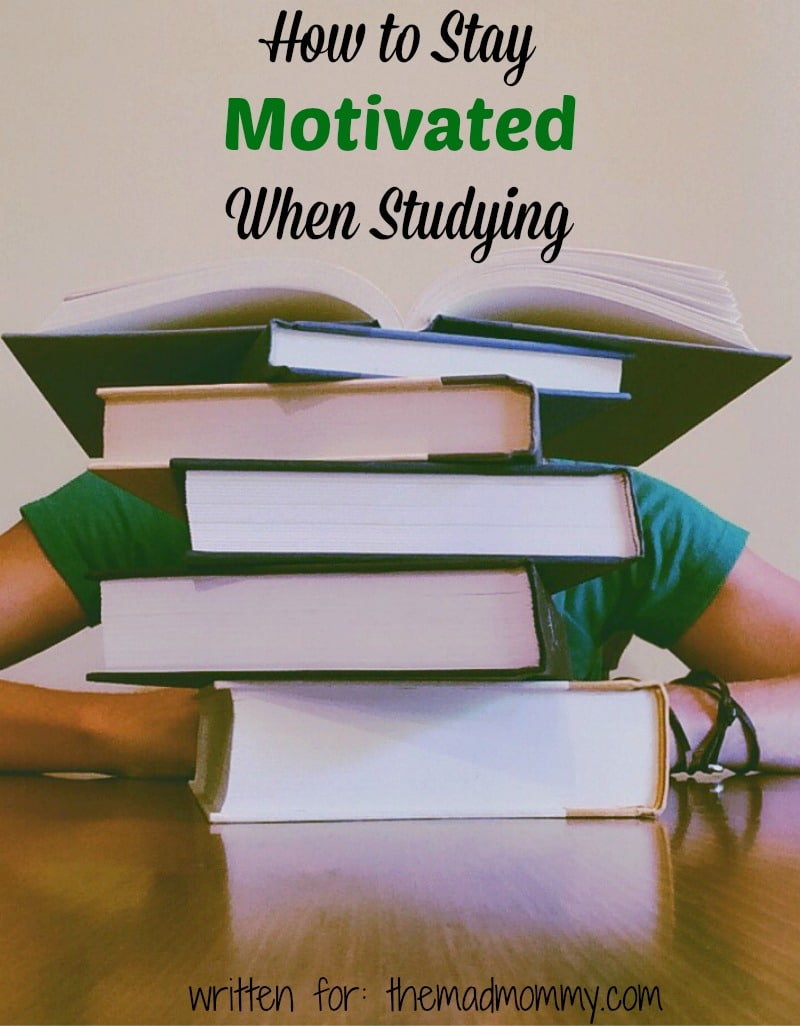 So how can you make sure that you stick with your schooling and earn that master's degree? Here are some tips that you can use that will help you to stay motivated when studying.