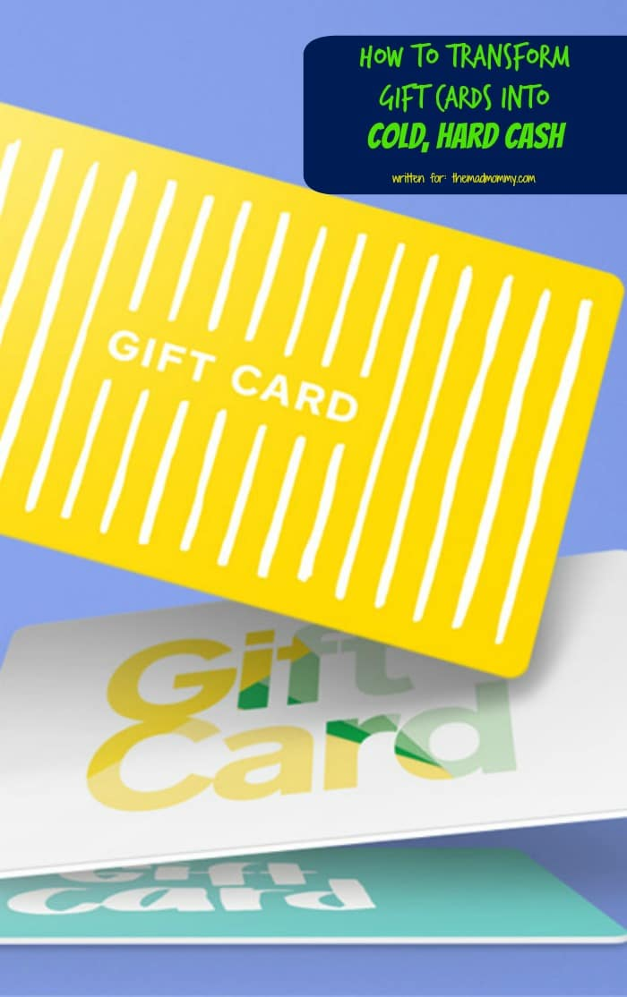 Here's a DIY guide which helps in trading-in or bartering that can help you transform gift cards into cash!