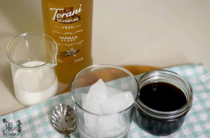 Ingredients for the Copycat Starbucks Cold-Brew with Vanilla Sweet Cream