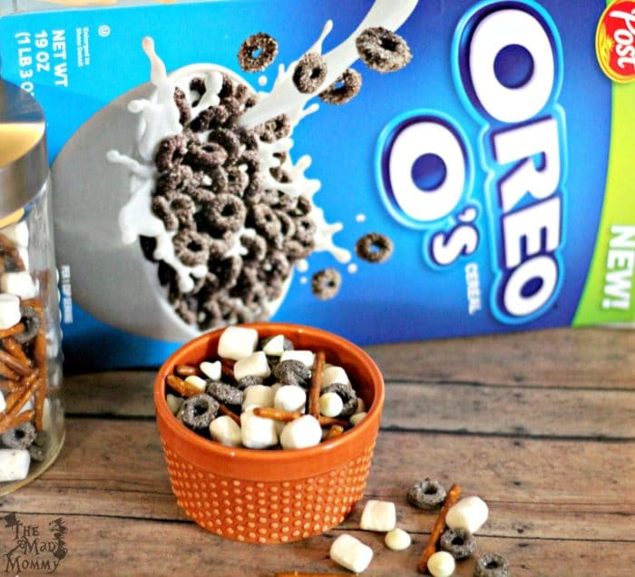 A Simple Snack Mix with Oreo O's!